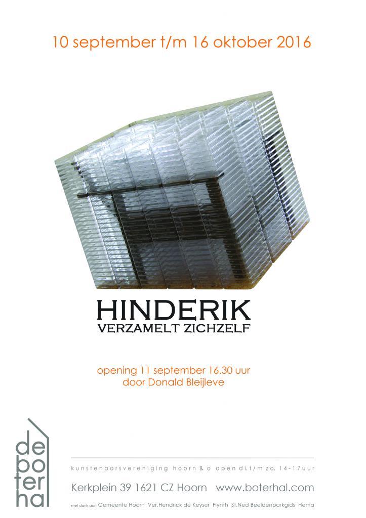 2016 Hinderik verzamelt zichzelf